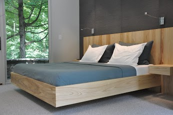 Custom Floating Bed, Greenwich, CT, USA