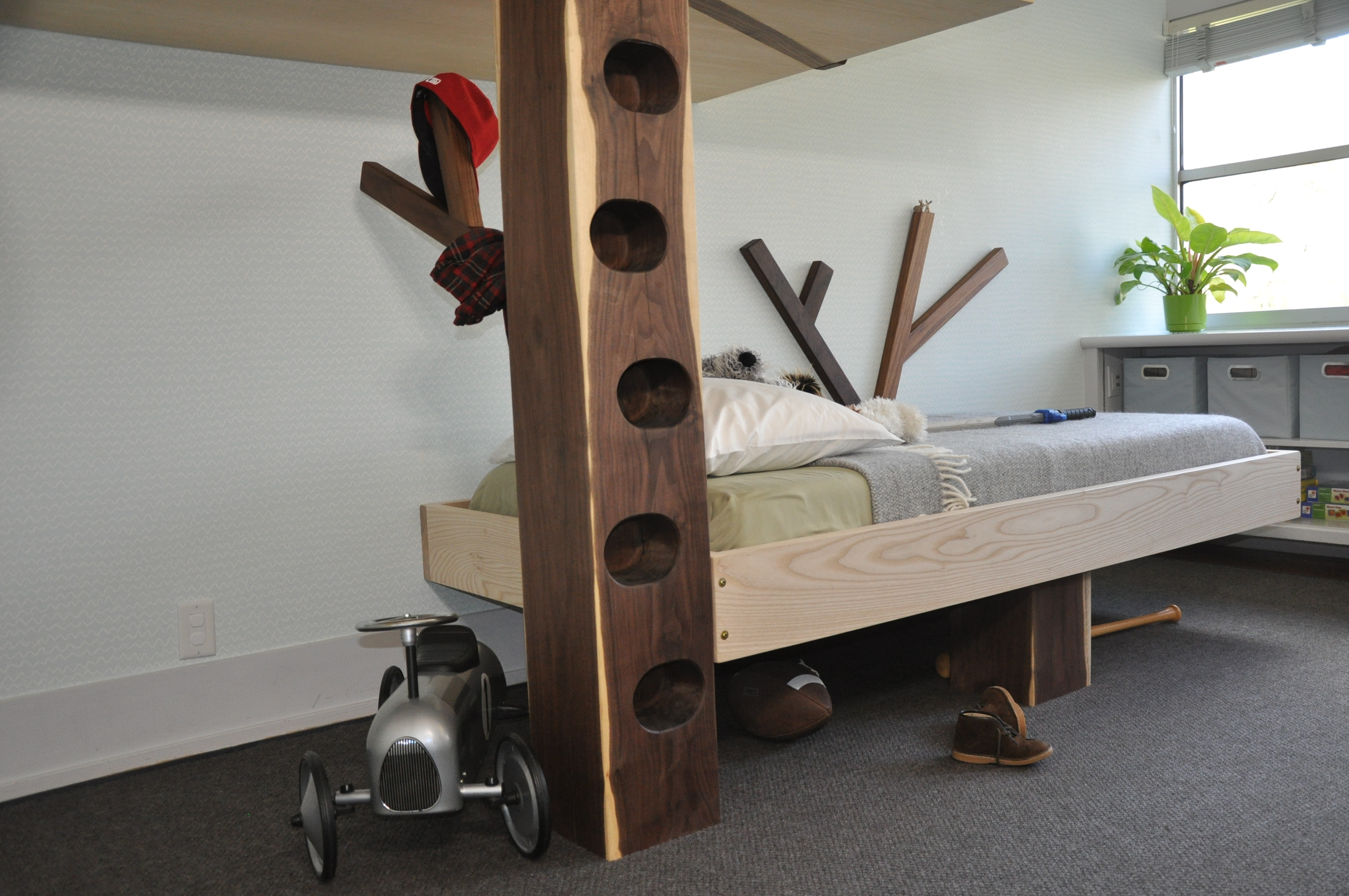 Custom 'Tree House' Bunk Bed, Greenwich, CT, USA